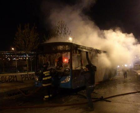 Previa del 11 de septiembre: detenidos, carabinero herido, quema de un bus y barricadas