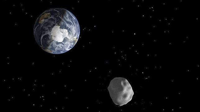 Asteroide de unos 20 metros pasará cerca de la Tierra este fin de semana