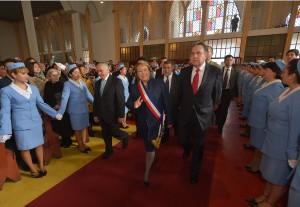 Presidenta Bachelet encabezó Te Deum Evangélico
