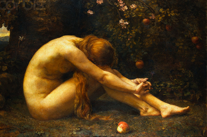 """Eve in the Garden of Eden"", de Anna Lea Merritt"