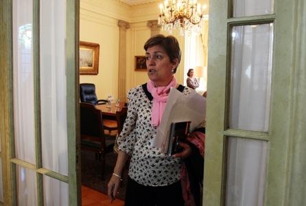 Josefa Errázuriz critica