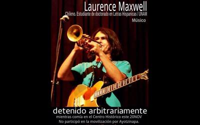 Laurence Maxwell… Ya es tiempo
