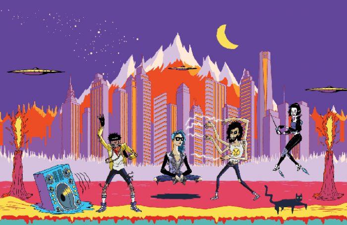 "Lollapalooza Chile, el mall del rock-pop que vende a ""ciegas"""