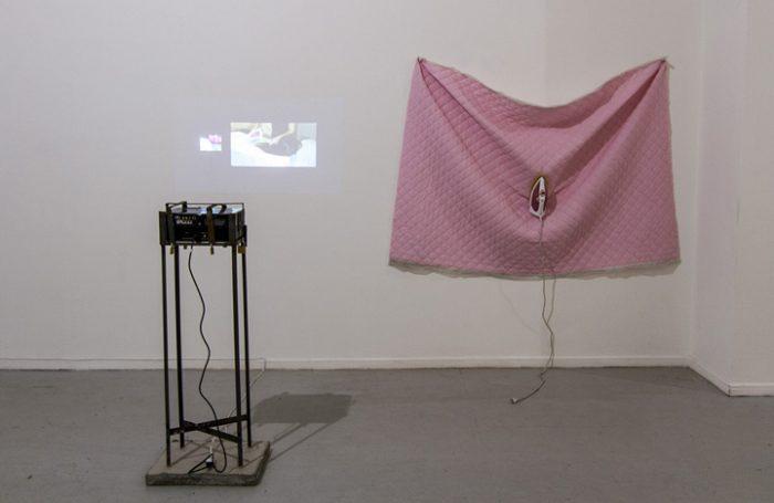 Nicolás Astorga, Hijas de la Grieta, 2014. Exposición Ciudad Sísifo, MAC.