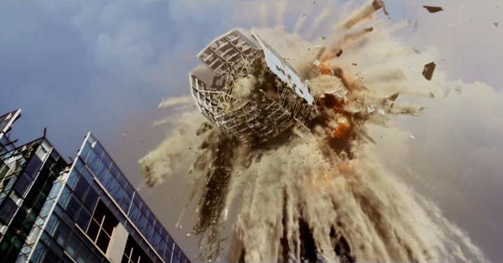 Video: El hollywoodense cortometraje que destruye el Costanera Center