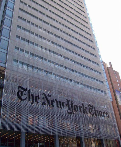 Las autoridades eliminan la cuenta de The New York Times del Twitter chino