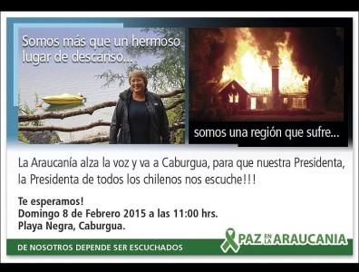 Paz en la araucanía