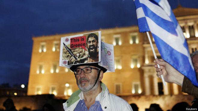 Grecia calificó de