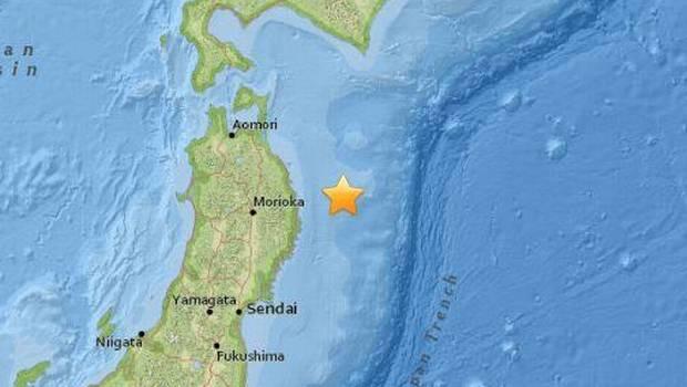 Sismo de 6.9° Richter remeció las costas de Japón