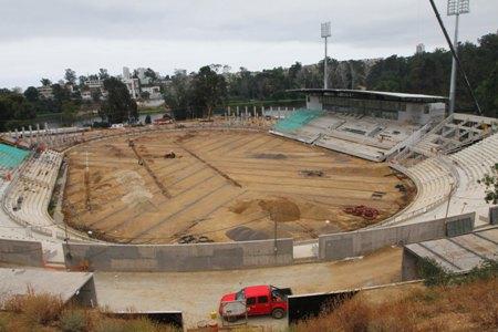 Copa América: sólo un milagro salva al Estadio Sausalito