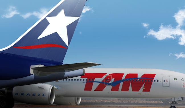 Crisis económica obliga a Latam Airlines a fuerte contracción en operaciones de TAM en Brasil