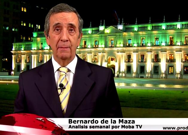 Video: El crudo análisis político de Bernardo de la Maza sobre el liderazgo de Bachelet