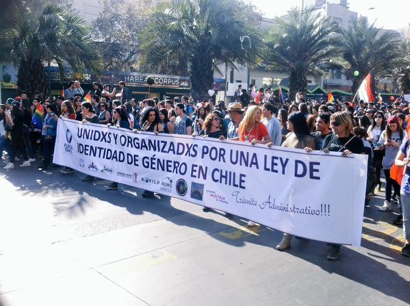 Marcha por la igualdad convoca a más de 50 mil personas