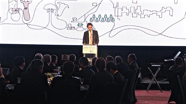 Discurso de Rodrigo Castillo en la Cena Anual de la Energía Eléctrica  2015