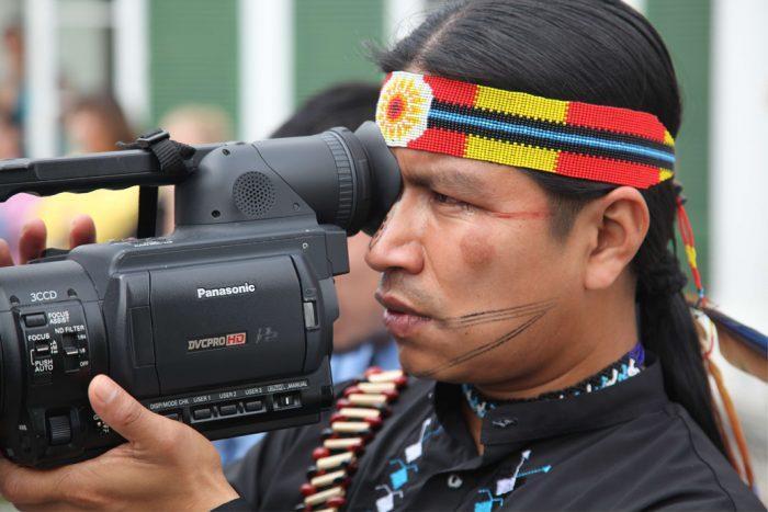 Cineastas indígenas reclaman sus derechos con una muestra de cine en Madrid