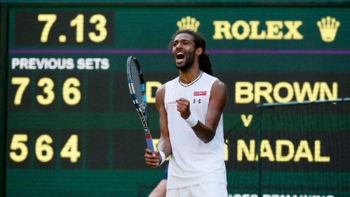 Wimbledon: Nadal cae ante un extraño de pelo largo