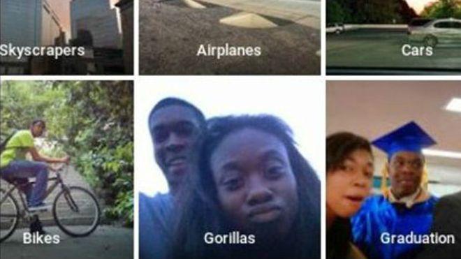 Google confunde a una pareja negra con gorilas