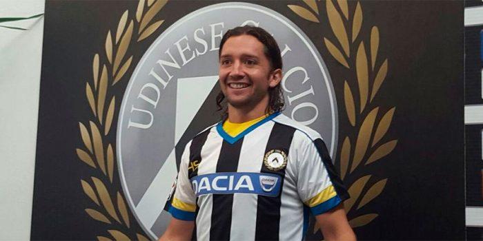 Manuel Iturra fue presentado en Udinese