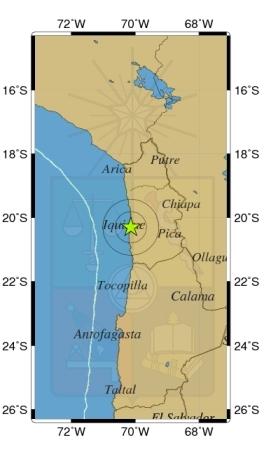Sismo de magnitud 5,2 en escala Richter afecta localidad en el norte del país