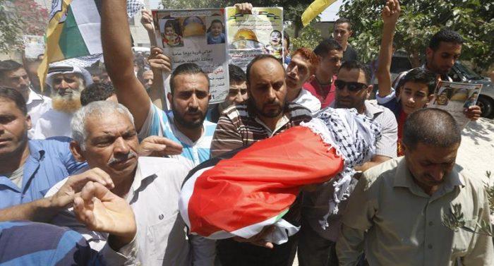 Rabia y dolor en Palestina por asesinato de bebé quemado en ataque de colonos israelíes