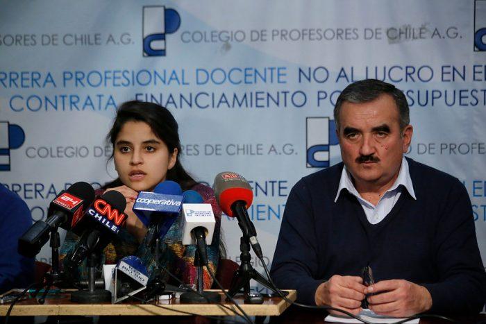 Fech marca distancia con  Jaime Gajardo y pide a los diputados votar en contra de la idea de legislar proyecto de carrera docente