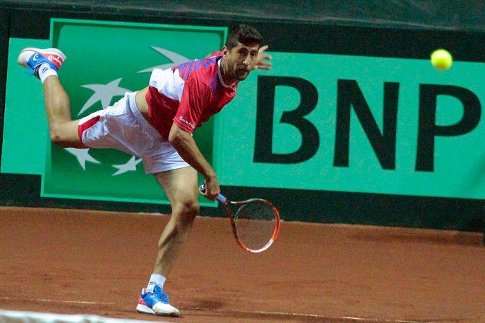 Copa Davis: Podlipnik y Jarry ganaron el dobles y Chile se quedó con la serie sobre México