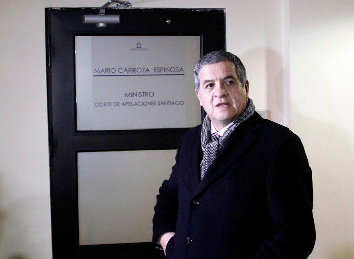 Ministro Carroza deja procesados a los siete detenidos en el Caso Quemados