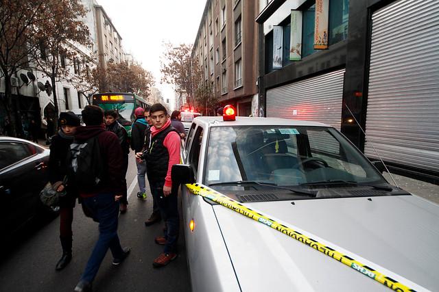 Movimiento Juvenil Lautaro tras ataque a Ministerio de Medio Ambiente: