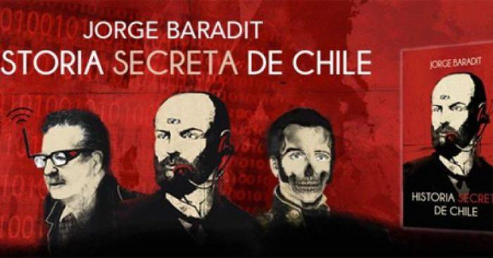 """RESULTADO: Gánate el libro """"Historia secreta de Chile"""" de Jorge Baradit"""