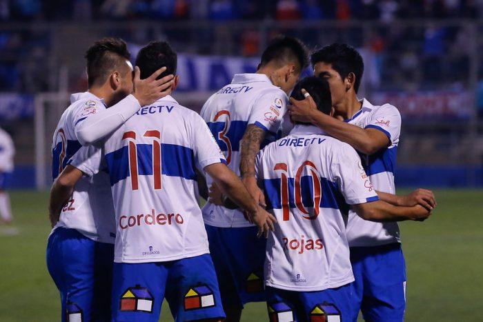 La UC venció a 2-1 al Audax Italiano y se acercó a los octavos de final de la Copa Chile