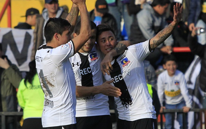 Colo Colo venció a Deportes Concepción por Copa Chile en Talcahuano