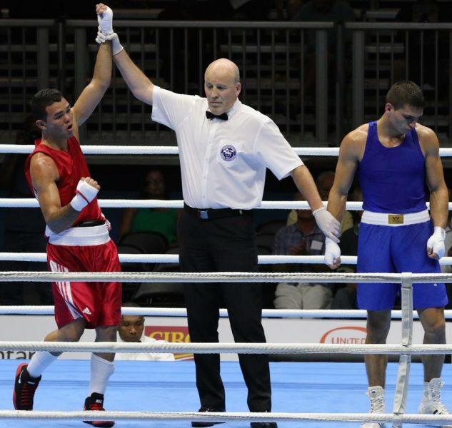 Derrota de Cherkashyns deja a Chile con una medalla