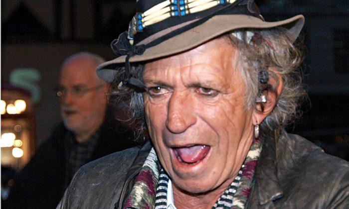 """El """"rolling"""" Keith Richards saca disco en solitario luego de más de 20 años"""