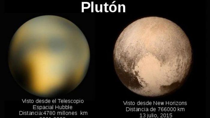 """""""New Horizons"""" revela la existencia de jóvenes montañas heladas en Plutón"""