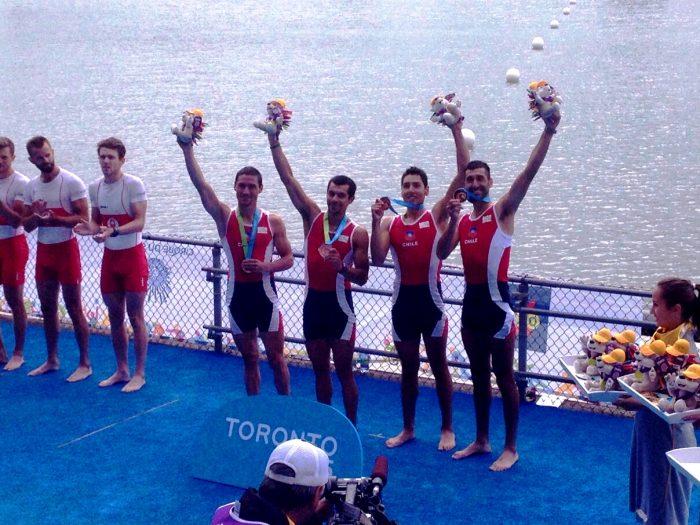 Toronto 2015: Remo cierra su participación con otra medalla de bronce