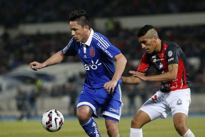 Antofagasta hizo sufrir a la U y le amargó su debut en el Nacional