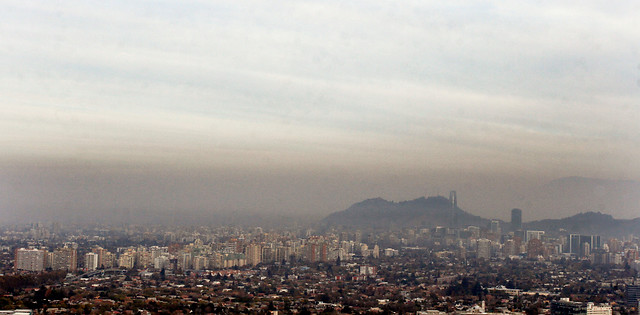 Decretan alerta ambiental para hoy en la Región Metropolitana