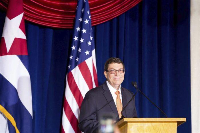 Canciller cubano exige a EE.UU. fin del embargo y la devolución de Guantánamo