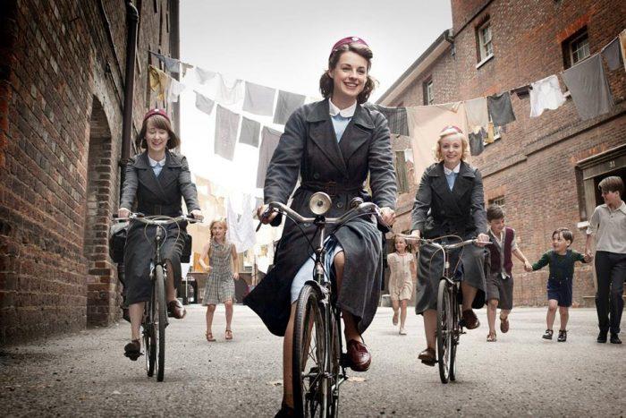 """""""Call the midwife"""" la exitosa serie británica se estrena en Canal Europa Europa, 2 de julio"""