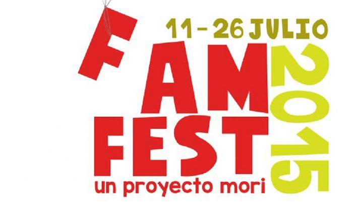 Cartelera Famfest, teatro familiar, semana del 14 al 19 de julio