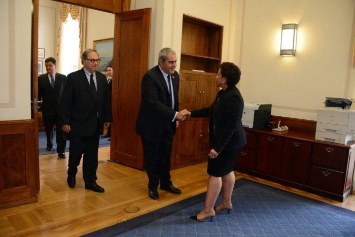 """Fiscal Nacional y su encuentro con Loretta Lynch: """"Existe disposición a entregar los antecedentes que se nos requieran"""""""