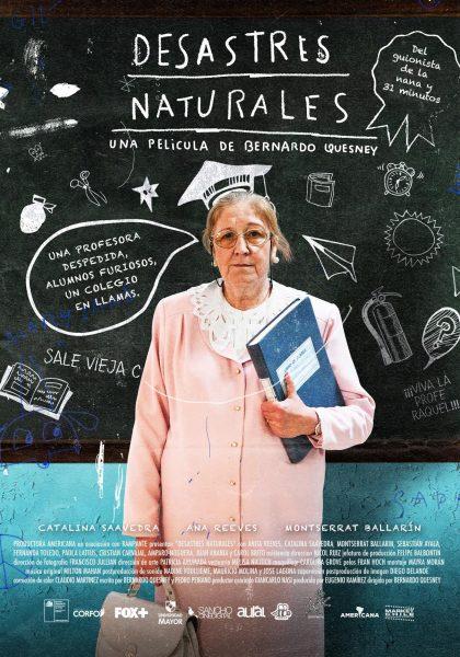 """Funciones gratuitas película """"Desastres Naturales"""" en Centro Cultural Municipal de Ovalle, todos los martes de agosto"""
