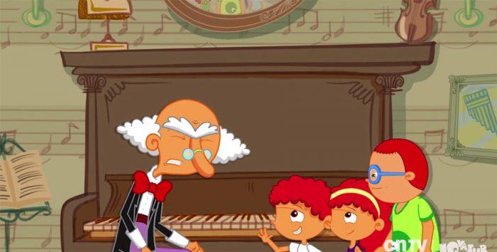 Entretención inteligente: Novasur lanza en Villa Francia nueva serie infantil animada que no se verá en la Tv abierta