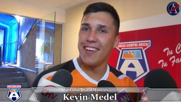 """Otra perlita del clan Medel: """"Tengo que aconfianzarme en el equipo"""""""