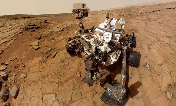 Curiosity halla en Marte rocas similares a la corteza continental terrestre