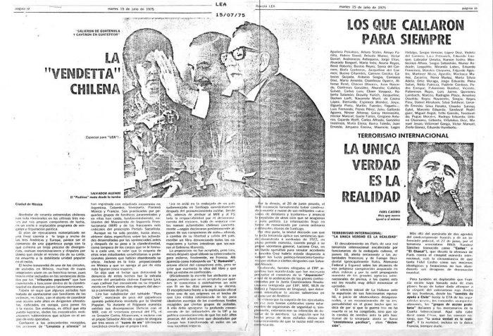la vendetta chilena