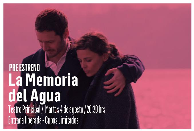 """Pre estreno gratuito de """"La memoria del agua"""" de Matías Bize en Matucana 100, 4 de agosto"""