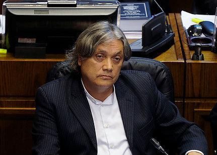 """Navarro se sincera: """"Realismo es que no habrá nueva Constitución con la presidenta Bachelet"""