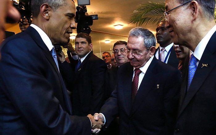"""La bandera cubana y la """"doctrina Obama"""""""