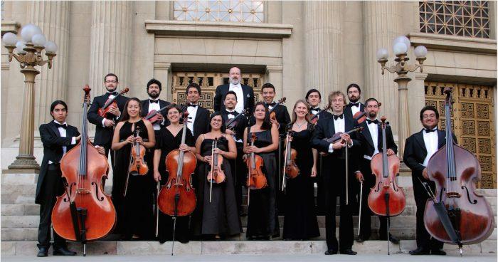 Concierto gratuito Orquesta Marga Marga en Parroquia San Vicente de Paul, 28 de julio